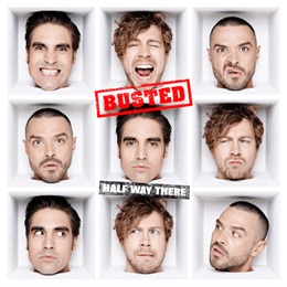 Buy Online Busted - Half Way There Red Vinyl