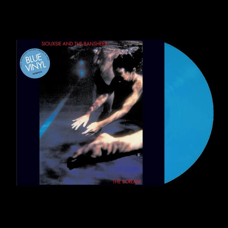 Buy Online Siouxsie & The Banshees - The Scream Blue Vinyl
