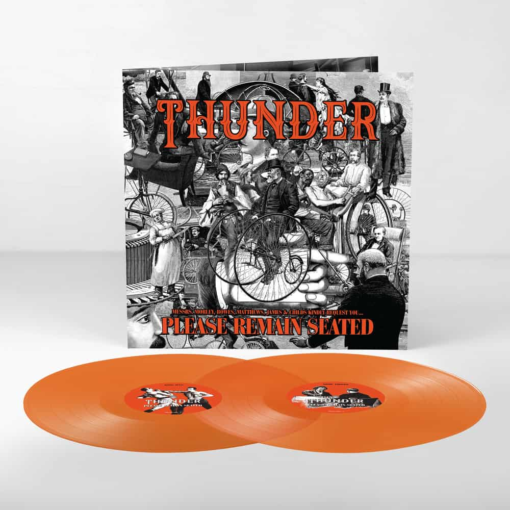 Buy Online Thunder - Please Remain Seated Double Transparent Orange Vinyl