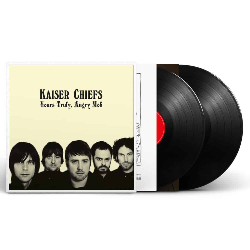 Buy Online Kaiser Chiefs - Yours Truly, Angry Mob Double Vinyl (2018 Reissue)