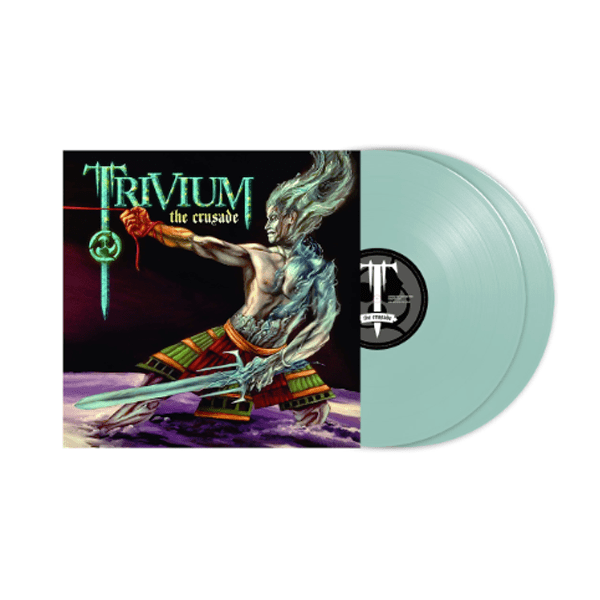 Buy Online Trivium - The Crusade Electric Blue Double Vinyl