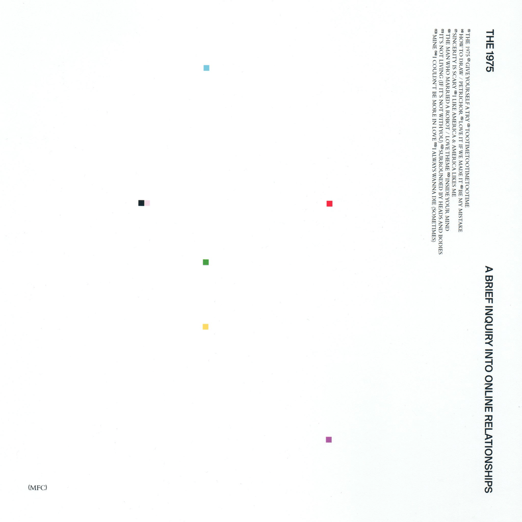 Buy Online The 1975 - A Brief Inquiry Into Online Relationships White Vinyl