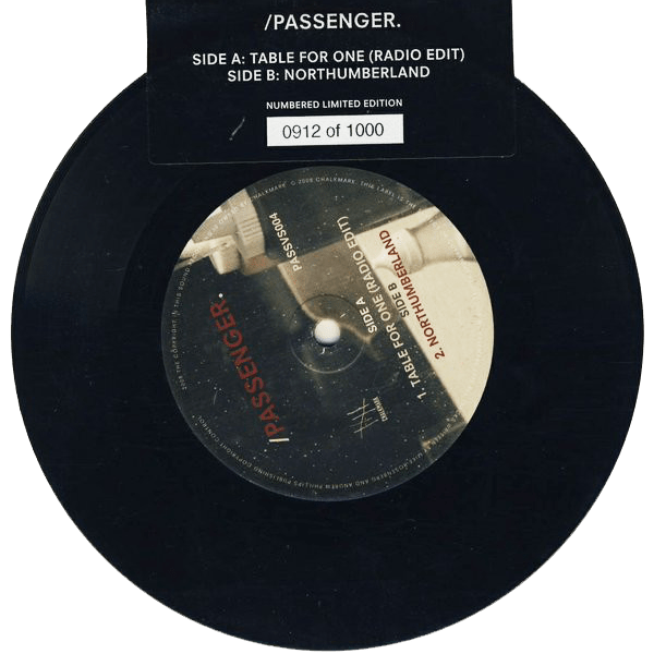Buy Online Passenger - Table For One Numbered 7-Inch Vinyl
