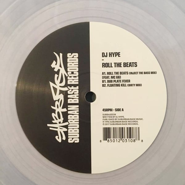 Buy Online DJ Hype - Roll The Beats Clear