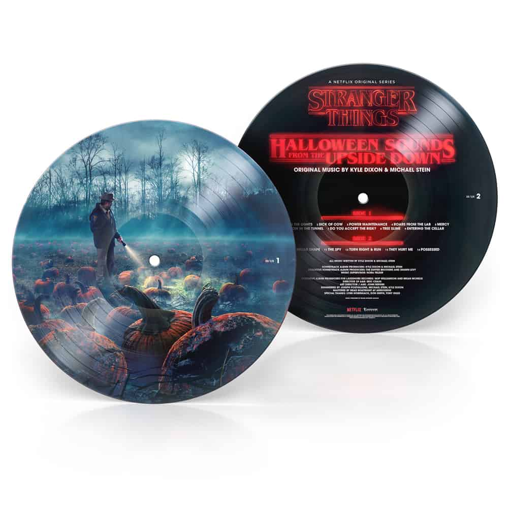 Buy Online Kyle Dixon & Michael Stein - Stranger Things: Halloween Sounds From The Upside Down (A Netflix Original Series Soundtrack) Picture Disc Vinyl