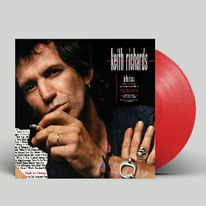 Buy Online Keith Richards - Talk Is Cheap Red Vinyl