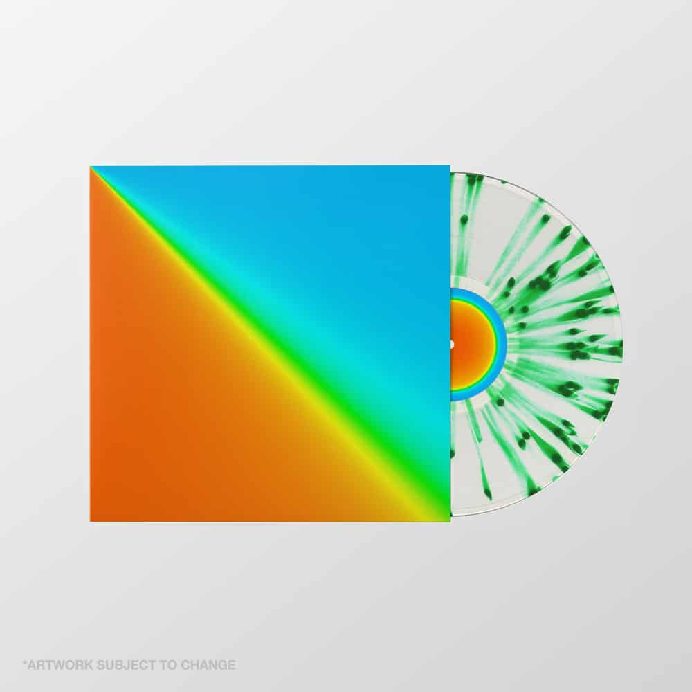 Buy Online Frank Carter & The Rattlesnakes - End Of Suffering Green & Clear Splatter Vinyl
