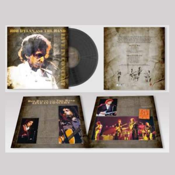 Buy Online Bob Dylan And The Band - Live In Concert VInyl