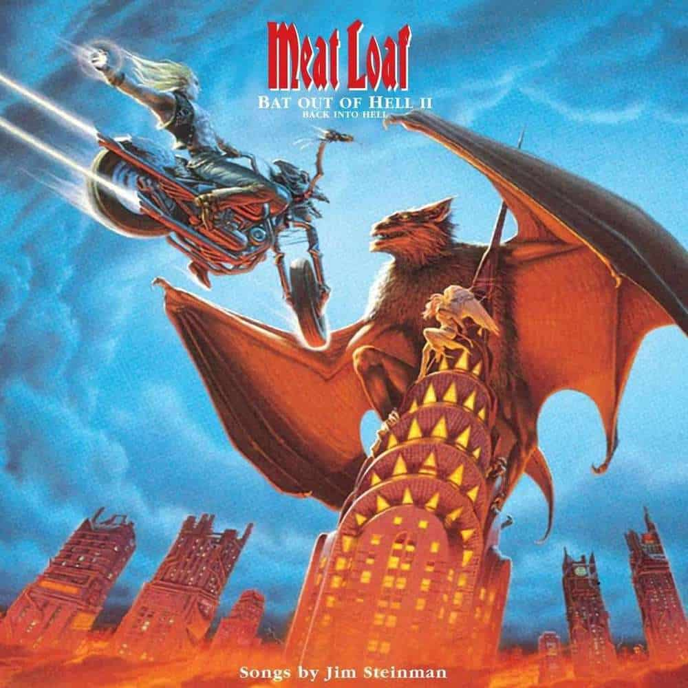 Buy Online Meat Loaf - Bat Out Of Hell II: Back Into Hell Double Vinyl