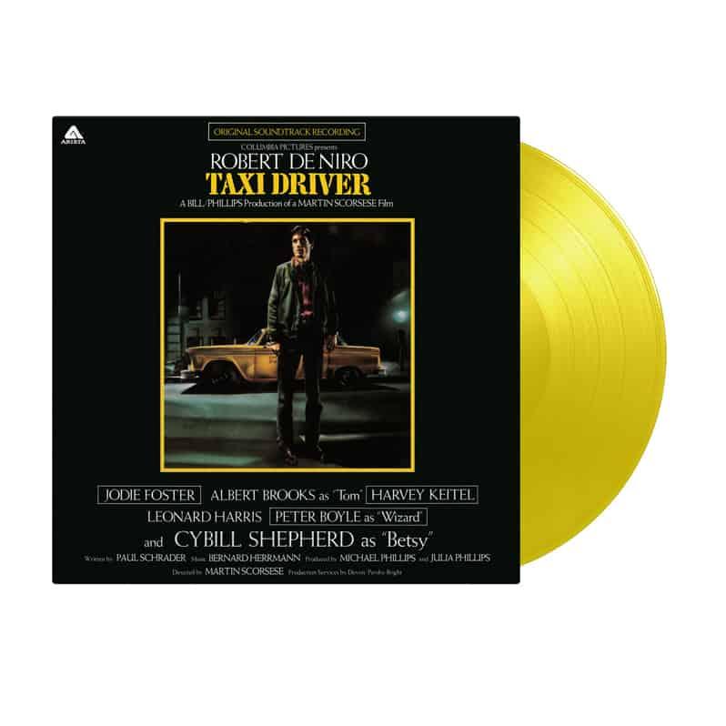 Buy Online Bernard Hermann - Taxi Driver OST Yellow Vinyl