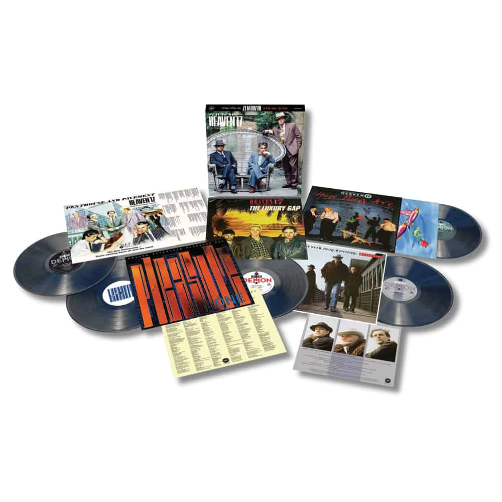Buy Online Heaven 17 - Play To Win - The Virgin Albums Coloured Vinyl Boxset