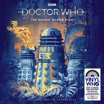 Buy Online Doctor Who - The Daleks' Master Plan 7LP Blue Vinyl Boxset