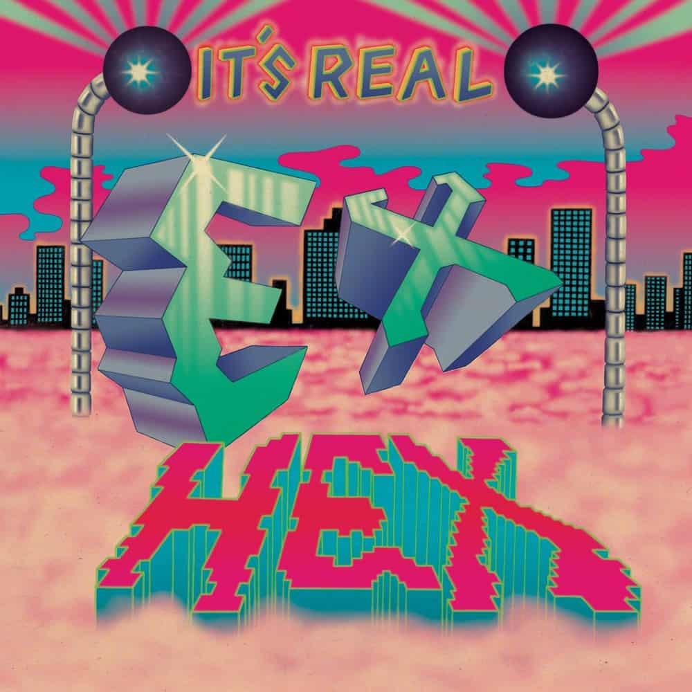 Buy Online Ex-Hex - It's Real Pink & Blue Swirl Vinyl