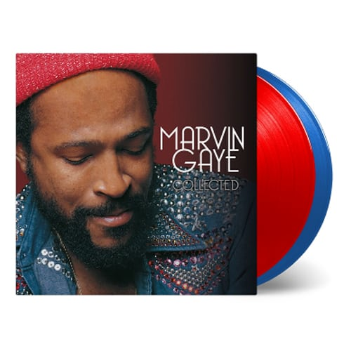 Buy Online Marvin Gaye - Collected Double Coloured Vinyl