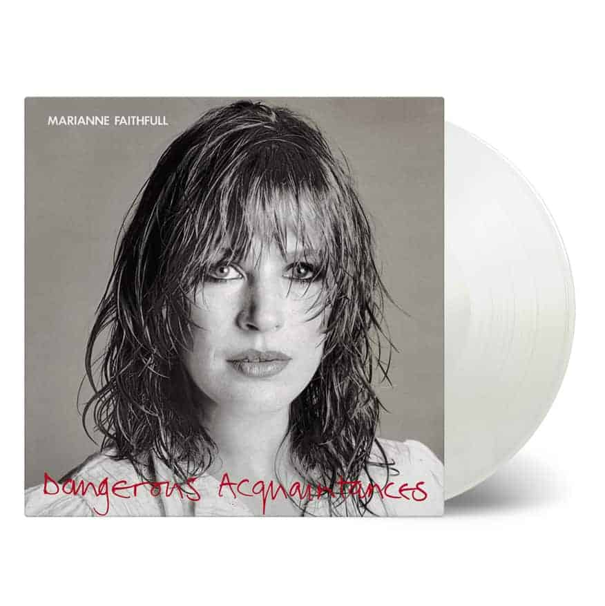 Buy Online Marianne Faithfull - Dangerous Acquaintance White Vinyl