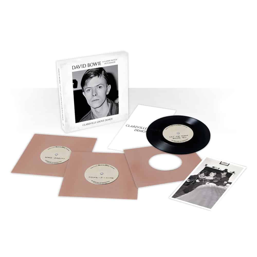 Buy Online David Bowie - Clareville Grove Demos 3 x 7-Inch Vinyl Set
