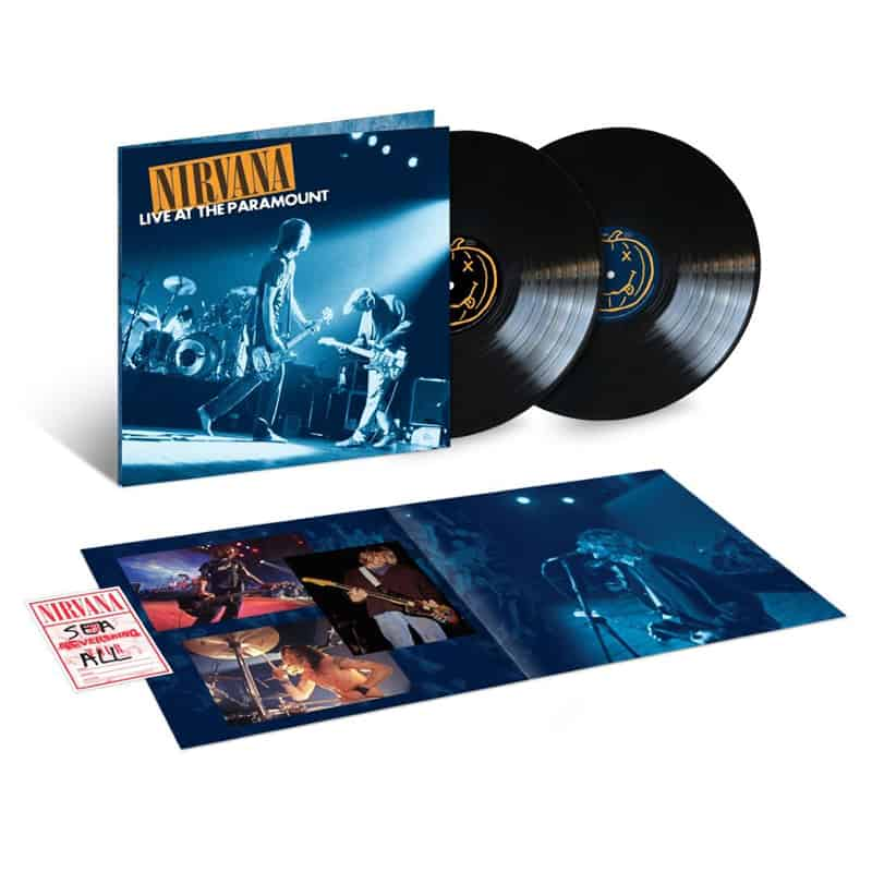 Buy Online Nirvana - Live At The Paramount Double Vinyl