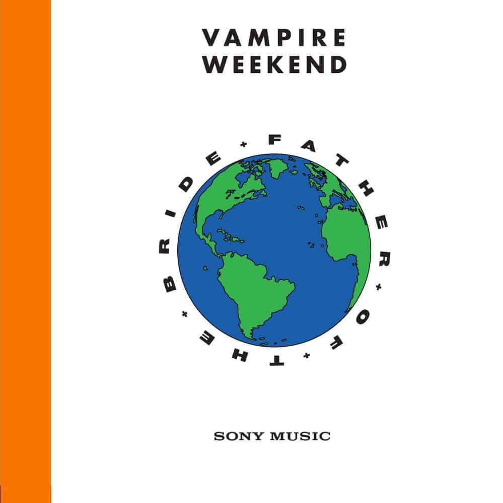 Buy Online Vampire Weekend - Father Of The Bride Double Orange Vinyl