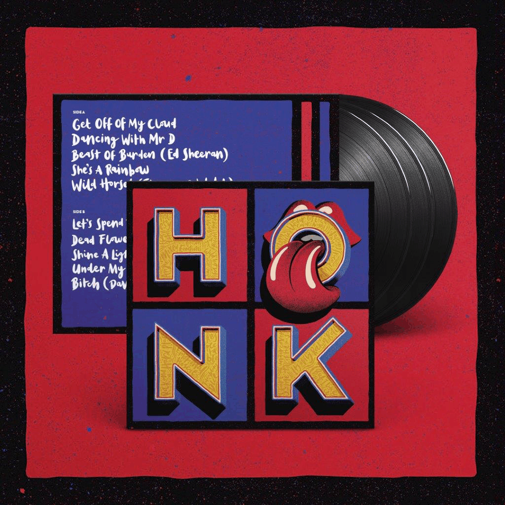 Buy Online The Rolling Stones - Honk Triple Vinyl