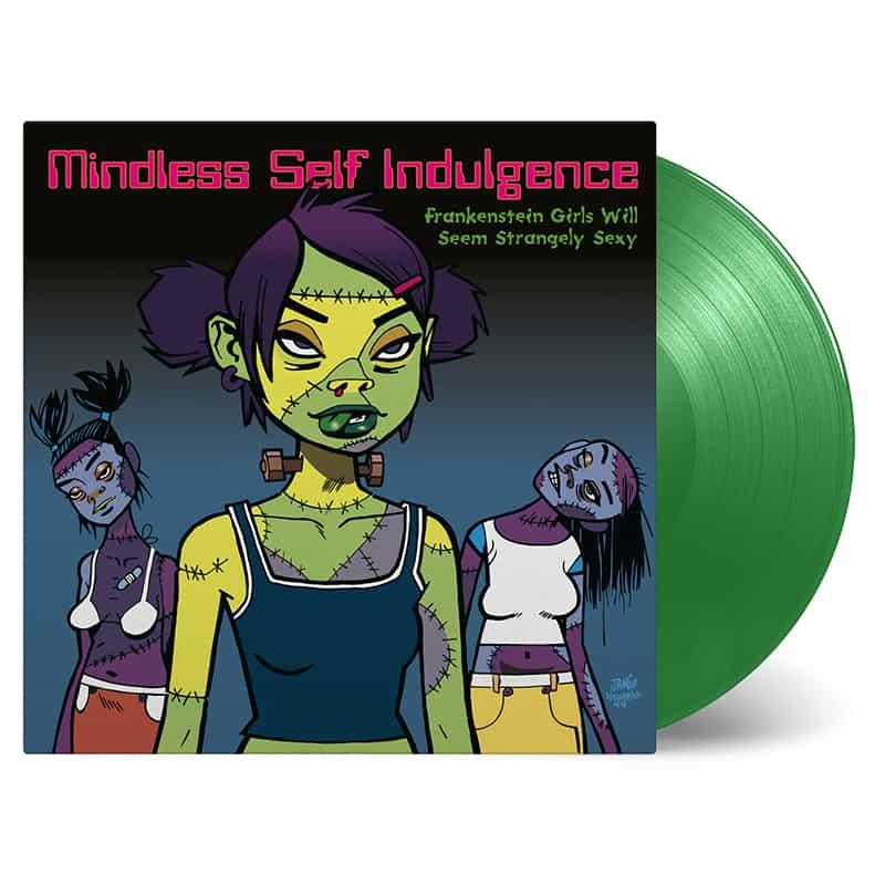 Buy Online Mindless Self Indulgence - Frankenstein Girls Will Seem Strangely Sexy Green