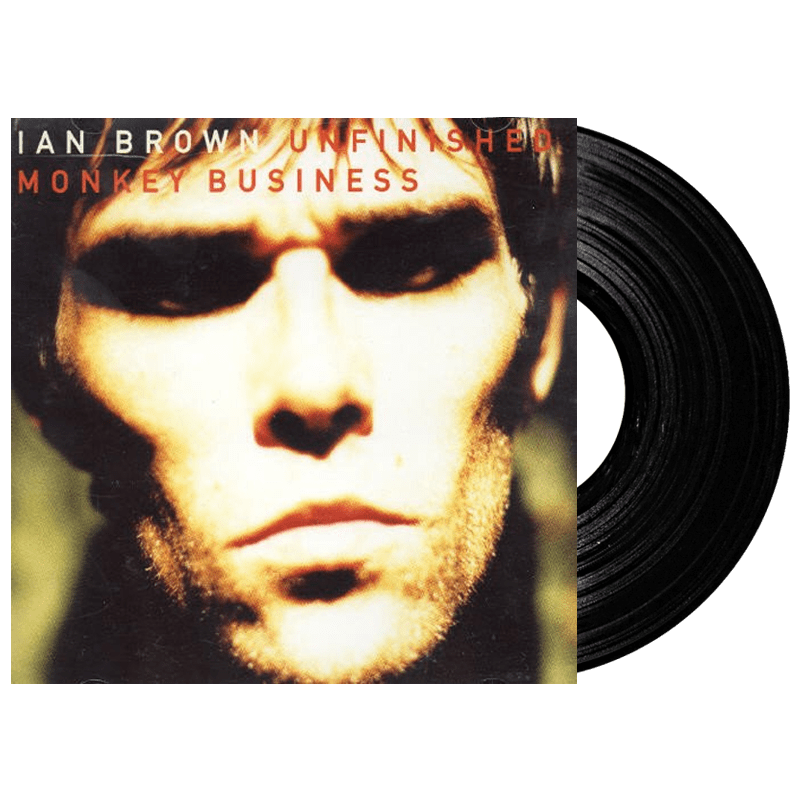 Buy Online Ian Brown - Unfinished Monkey Business Heavyweight Vinyl