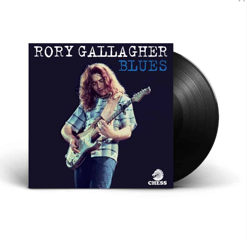 Buy Online Rory Gallagher - Blues Double Vinyl