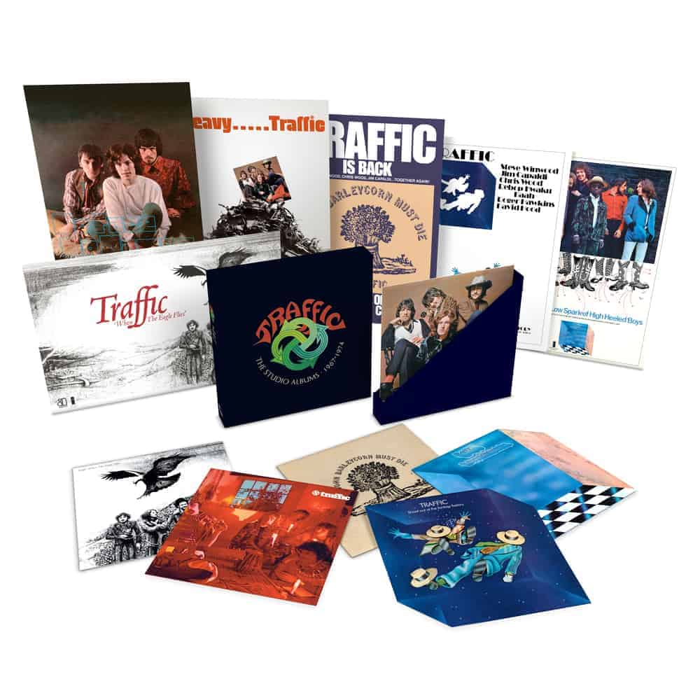 Buy Online Traffic - The Studio Albums 1967-74