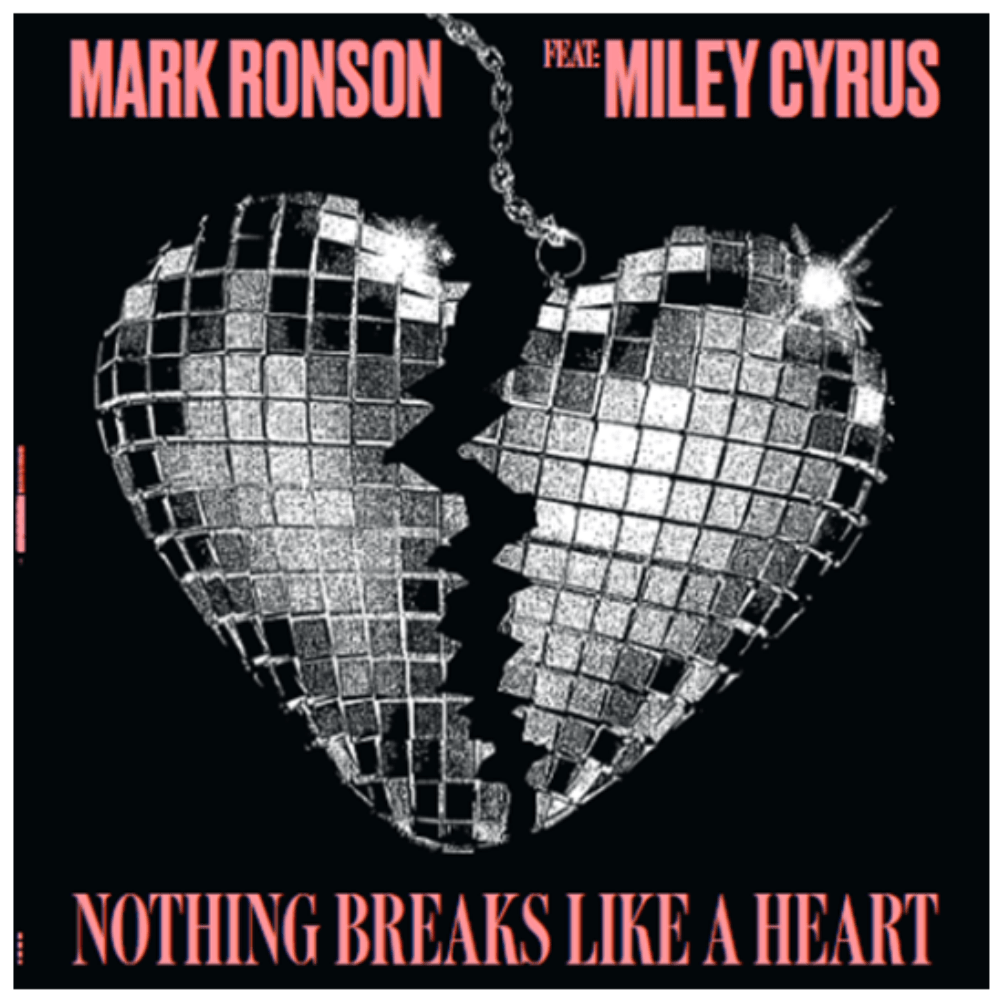 Buy Online Mark Ronson & Miley Cyrus - Nothing Breaks Like A Heart