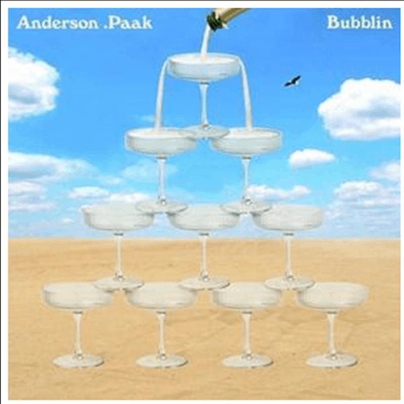 Buy Online Anderson .Paak - Bubblin