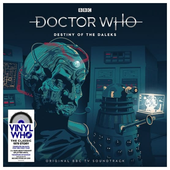 Buy Online Doctor Who - Destiny Of The Daleks Red & Blue Splatter