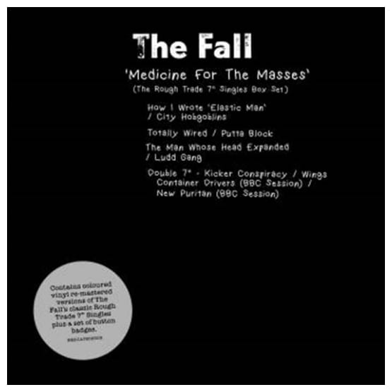 Buy Online The Fall - Medicine For The Masses - The Rough Trade Singles