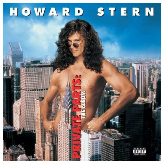 Buy Online Howard Stern - Private Parts: The Album OST Blue