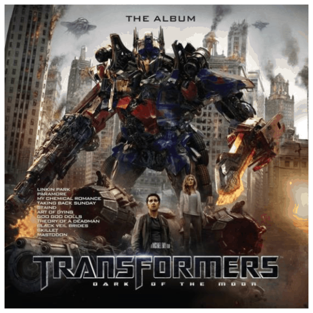 Buy Online Various Artists - Transformers: Dark Of The Moon OST Brown