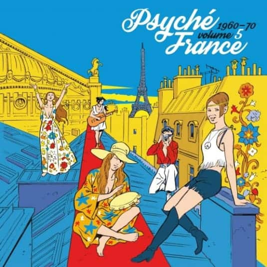 Buy Online Various Artists - Psyche France Vol. 5 1960-70