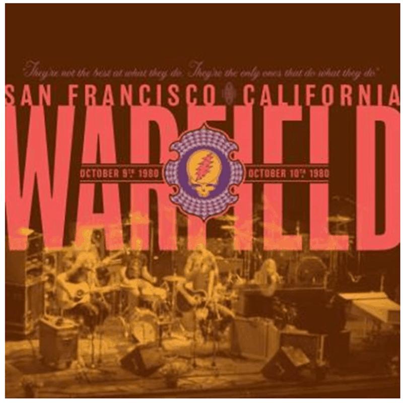 Buy Online Grateful Dead - The Warfield, San Francisco, CA 10/9/80 & 10/10/80