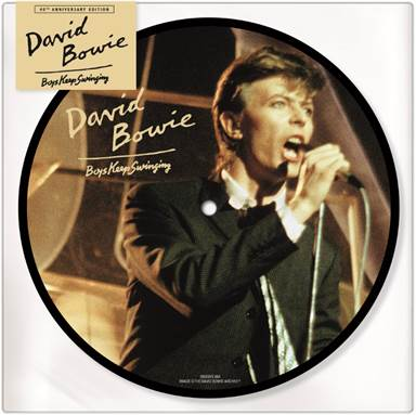 Buy Online David Bowie - Boys Keep Swinging Picture Disc