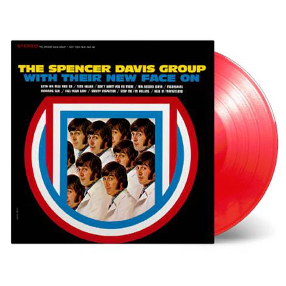 Buy Online The Spencer Davis Group - With Their New Face On Red Transparent