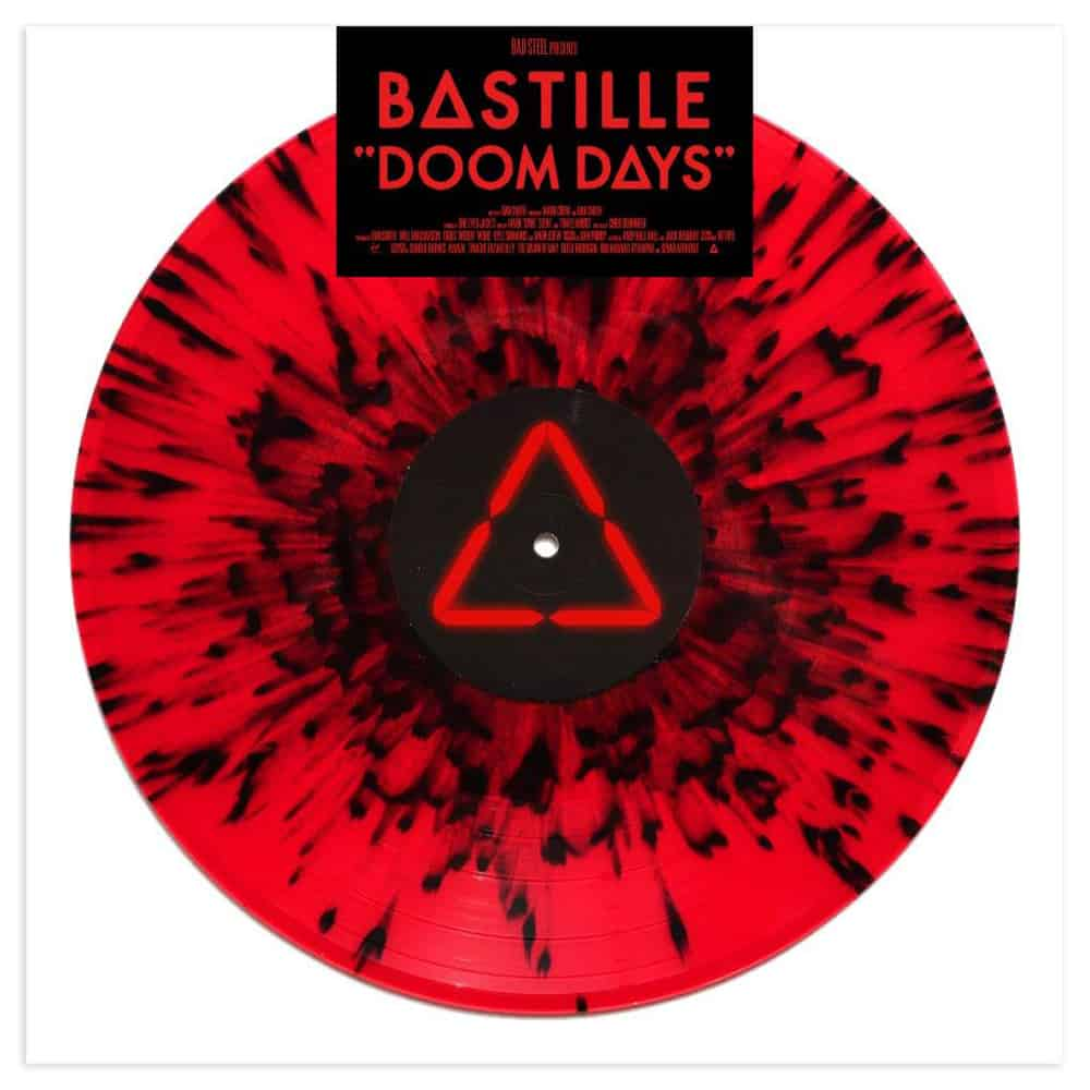 Doom Days Red/Black Splatter LP