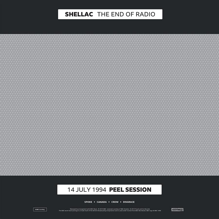 Buy Online Shellac - The End Of Radio