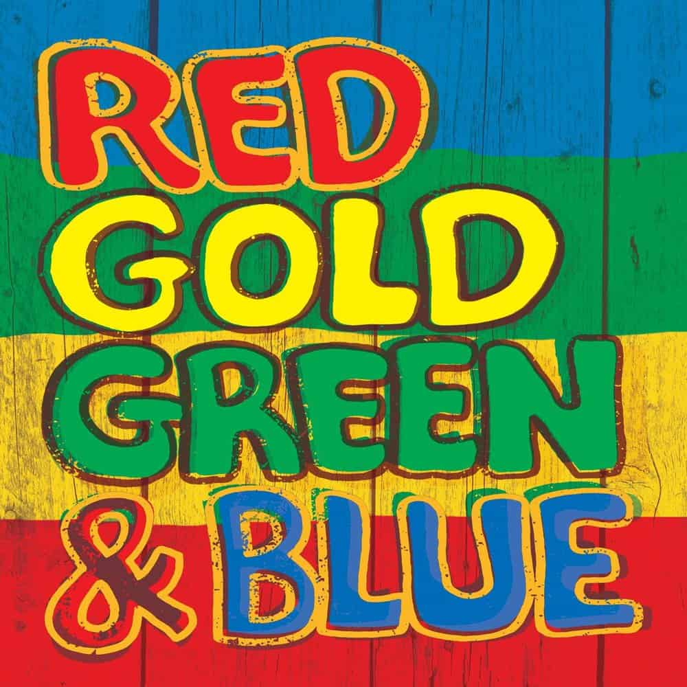 Buy Online Various Artists - Red, Gold, Green & Blue