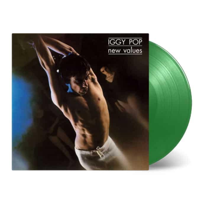 New Values Green Heavyweight LP