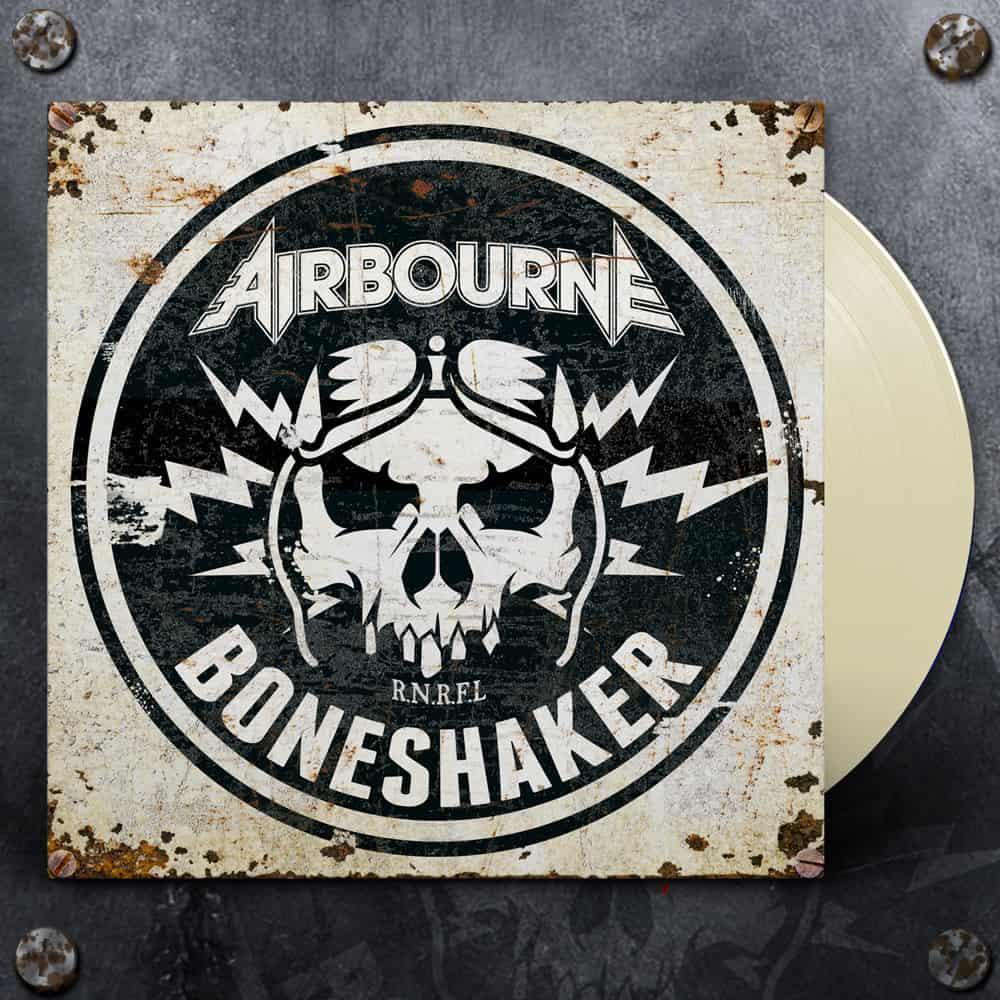 Buy Online Airbourne - Boneshaker Ivory