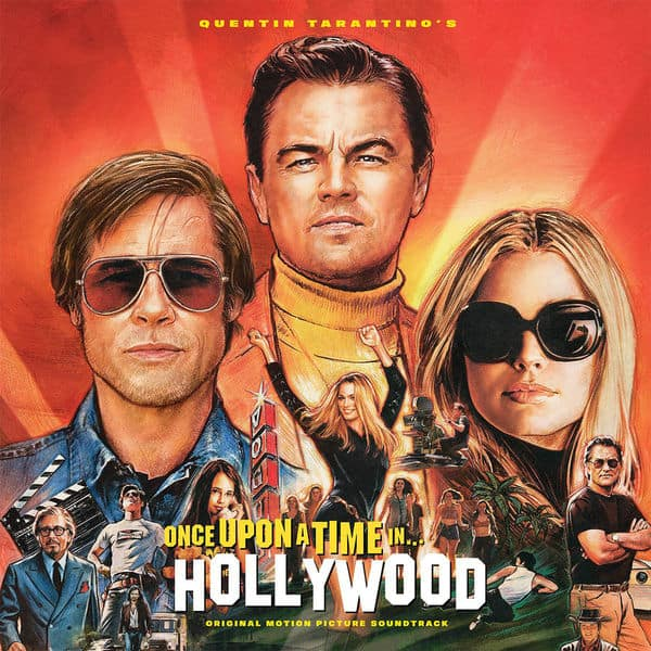 Buy Online Various Artists - Quentin Tarantino's Once Upon A Time In Hollywood (Original Motion Picture Soundtrack) Orange
