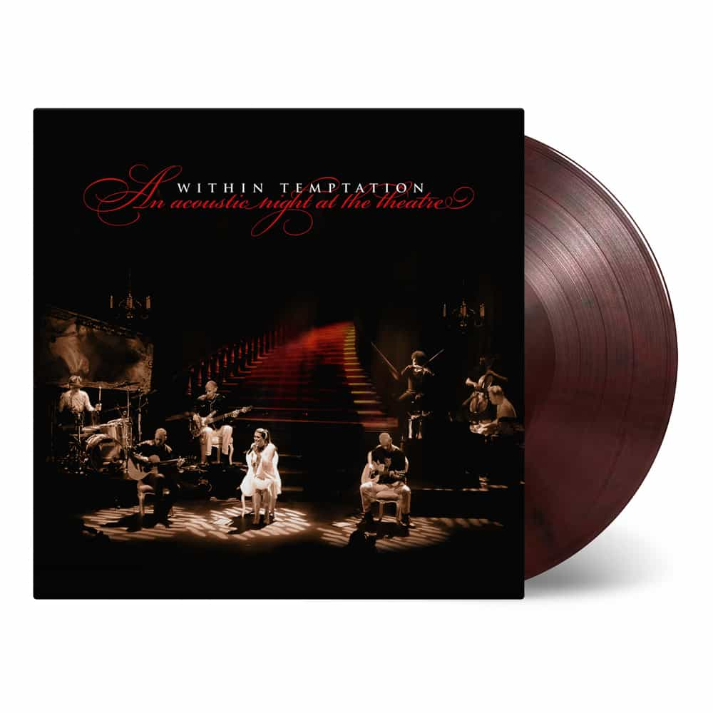 Buy Online Within Temptation - An Acoustic Night At The Theatre Red & Black Marble