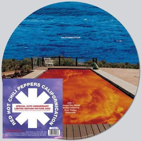 Buy Online Red Hot Chili Peppers - Californication Double Picture Disc