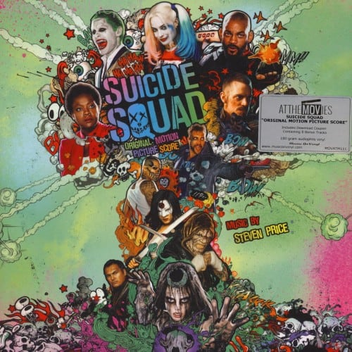 Buy Online Stephen Price - Suicide Squad Original Soundtrack Double Coloured Vinyl (Ltd Harley Quinn Fan Edition)