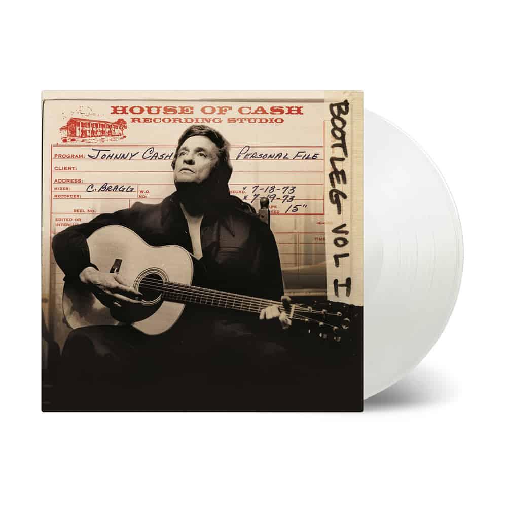 Buy Online Johnny Cash - Bootleg 1: Personal File Transparent