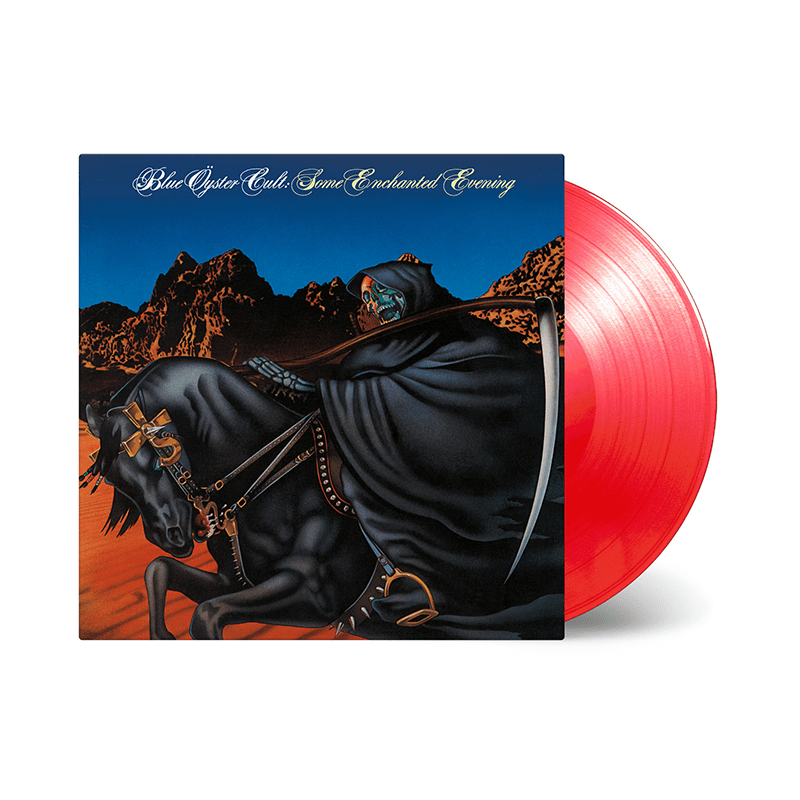 Buy Online Blue Oyster Cult - Some Enchanted Evening Transparent Red