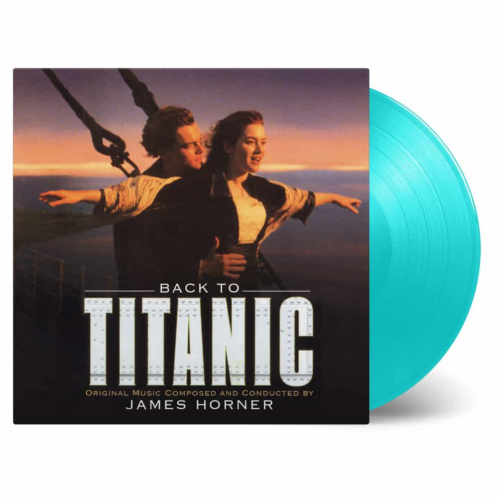 Buy Online James Horner - Back To Titanic OST Turquoise Double