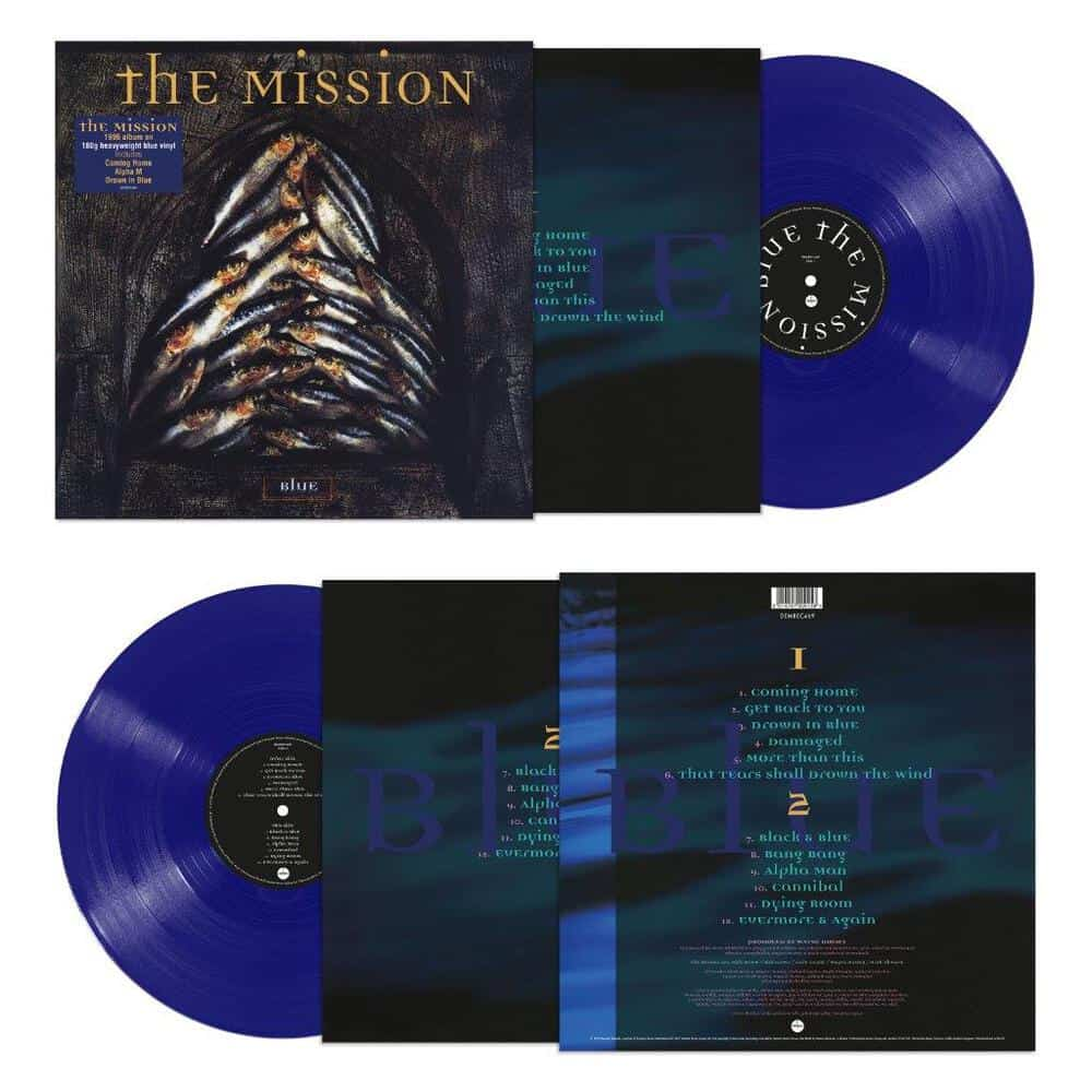 Buy Online The Mission - Blue Heavyweight Vinyl (Blue Disc)